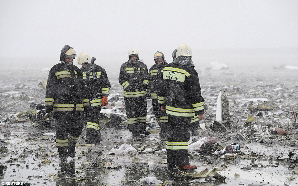Emergency services were at the airport early on Saturday morning as they attempted to clear up the debris from the Boeing 737