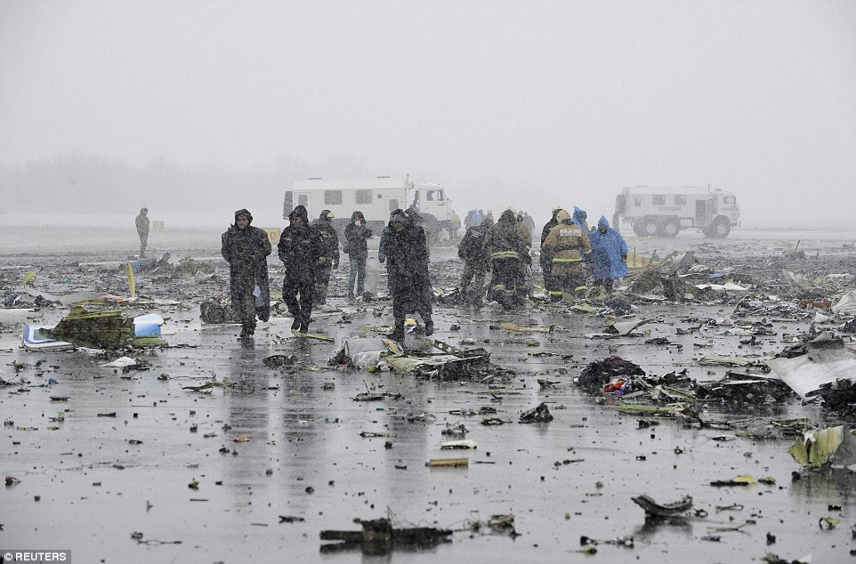 Up to 80 people are thought to have been deployed to the scene as they desperately try and search the wreckage