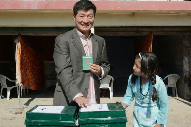 ... Tibetan elections for those living in exile in Dharamshala on October