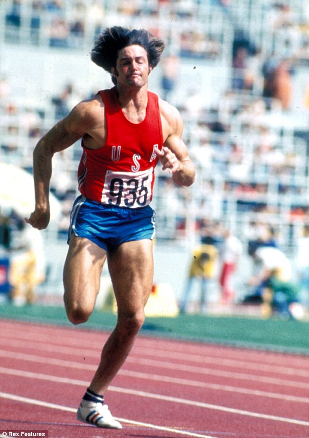 Champion: Bruce Jenner broke the world record for the decathlon at the 1976 Games before retiring