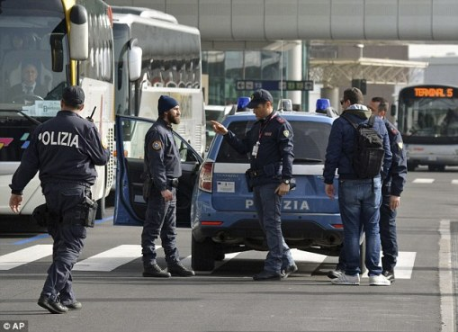 Image result for pictures showing security check points on the road and railway