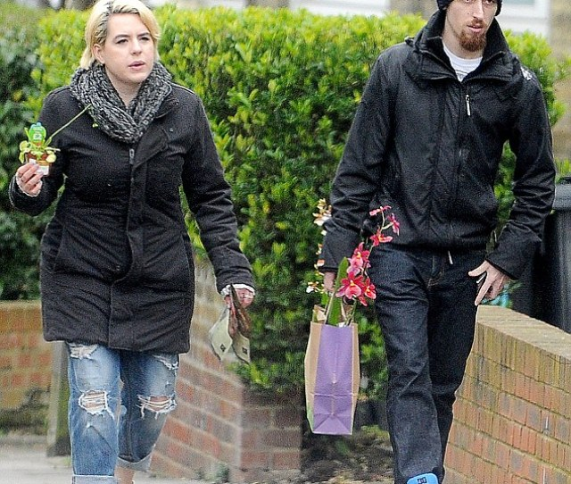 Newlyweds Bella Cruise And Max Parker Pictured Taking A Romantic Stroll Through London After Visiting