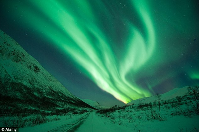 Daily Mail Northern Lights