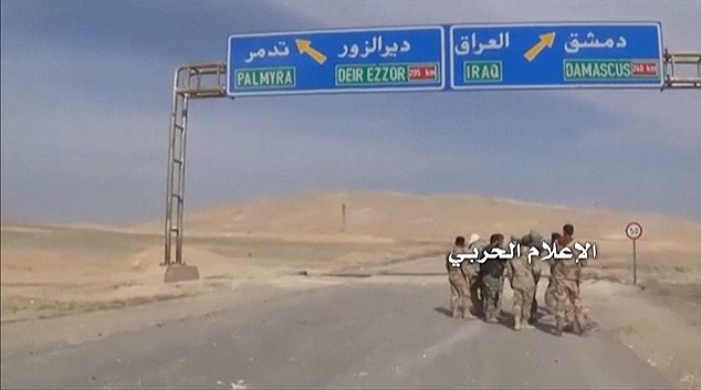 The terrorists captured Palmyra in May 2015 and began systematically destroying the ancient artifacts