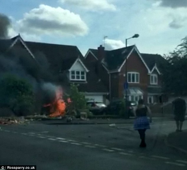 Maughan was racing at more than 70mph when he spun out of control and smashed into a house, in Branton, near Doncaster, causing the Renault Megane he was driving to burst into flames