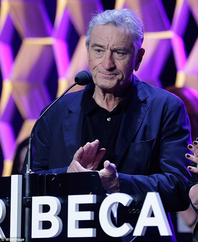 Spoke out: Robert De Niro issued a statement on Friday defending the decision to screen the controversial anti-vaccine documentary Vaxxed at the Tribeca Film Festival, that he co-founded