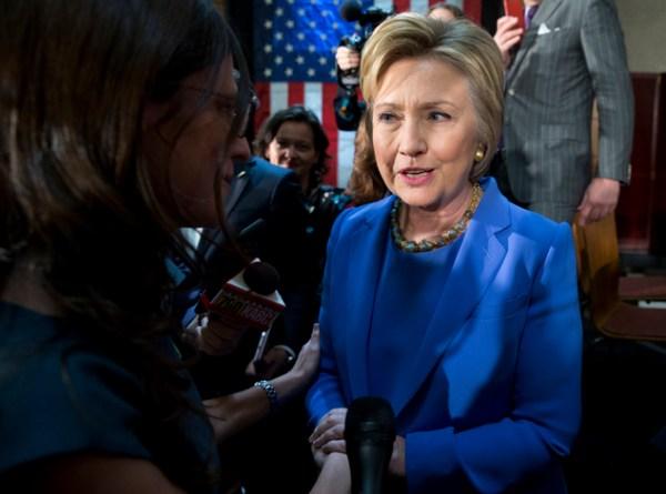 The Latest: Clinton laments GOP's 'implacable hostility ...