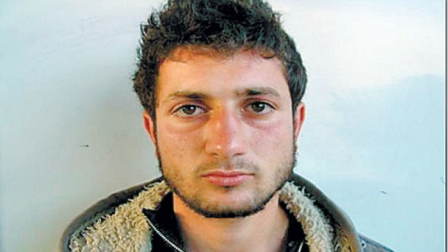 Amjad Awad (pictured) and his cousin Hakim Awad killed Ehud and Ruth Fogel and their three children in their West Bank home in 2011. They have been getting foreign aid since they were convicted for life