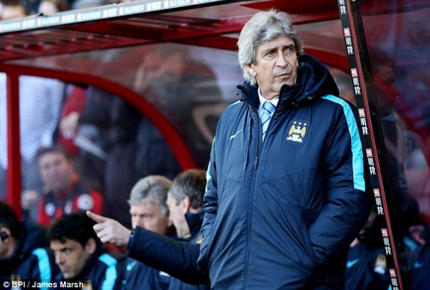 City's current manager, Manuel Pellegrini, is paid £4.4million a year but is leaving after this season