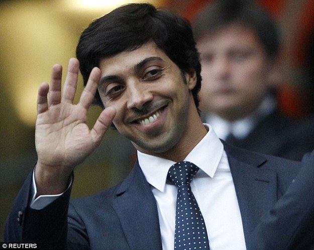 City owner Sheik Mansour has been involved with the club since the takeover in September 2008