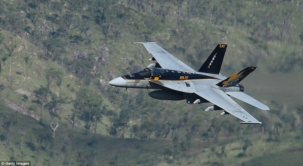 US fighter jets join Australian aircraft to drop bombs in ...