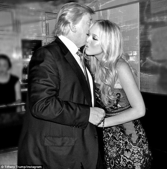 Donald Trump Talks About Then Infant Daughter Tiffanys