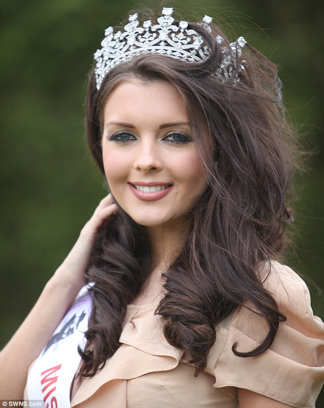 Secondary school teacher, Emily Sanders has set her sights on becoming Miss England