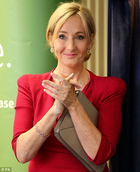 Image result for jk rowling lunch