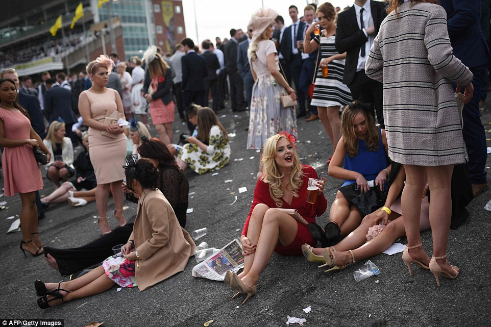 The annual three day meeting culminates in the Grand National which is run over a distance of four miles and four furlongs