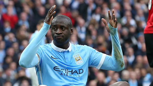 Image result for pic of yaya toure in city color