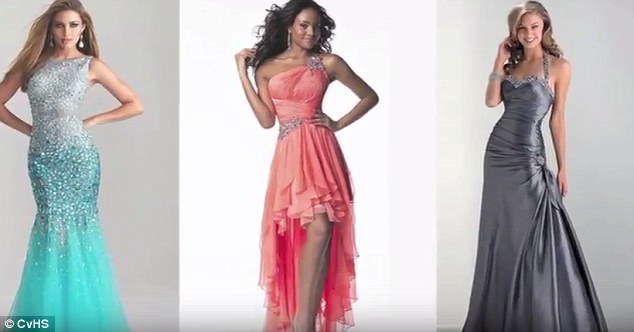Image result for acceptable prom dresses