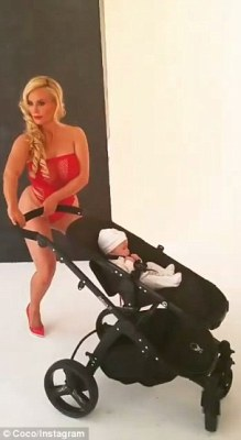 Swerved: She spun the stroller in circles