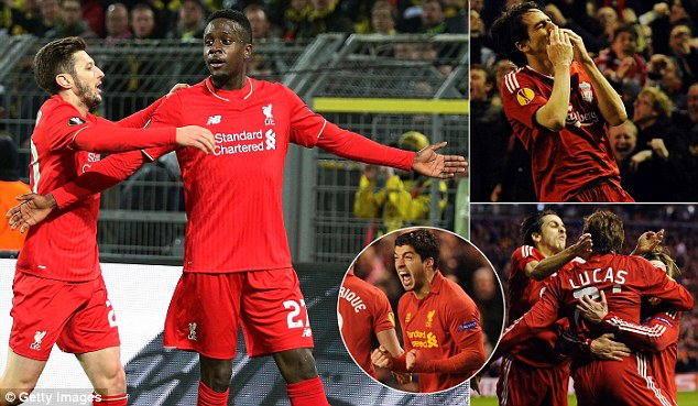 Liverpool are looking to recreate some of their most famous recent Anfield nights against Dortmund