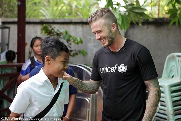 Killian Kleinschmidt, un ex alto funcionario de la ONU, revela cómo la organización se vio afectada por las luchas internas y una obsesión con las celebridades (en la foto, David Beckham)