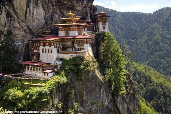 Kate and William visit Buddhist monastery in Bhutan known ...