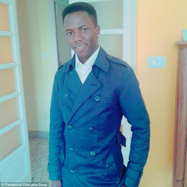 Victim:Yusapha Susso was shot through the skull but astonishingly the bullet passed out the other side, grazing the brain but not damaging it. Susso describes his survival as a 'miracle'