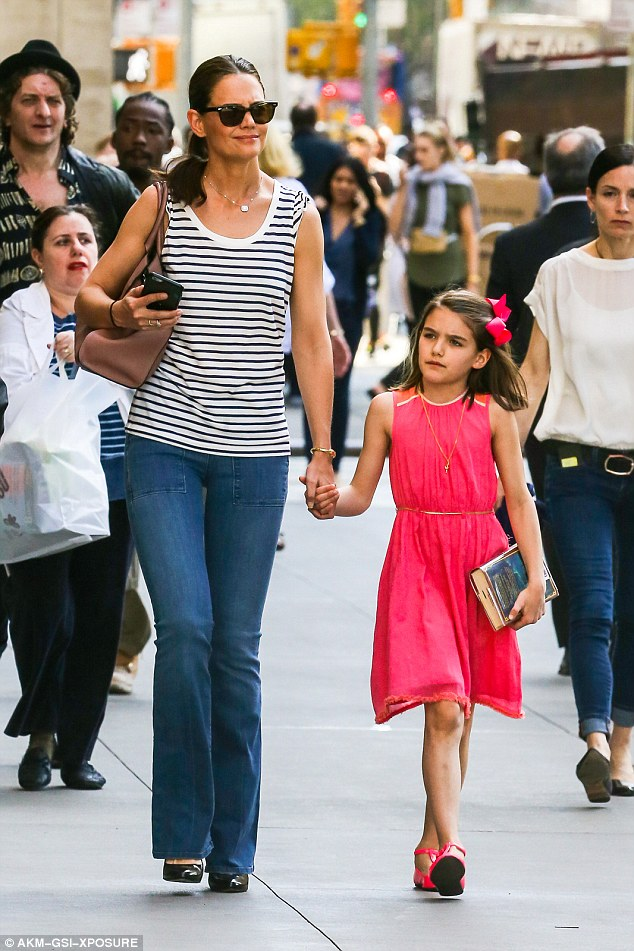 Katie Holmes Took To Instagram To Wish Daughter Suri A