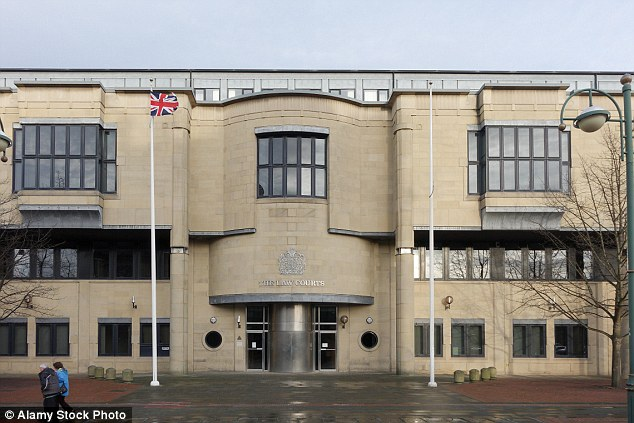 The judge refused to impose a mandatory victim surcharge on the girl when she appeared at Bradford Crown Court (pictured), after hearing that the paedophile had destroyed her life