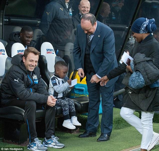 Newcastle Boss Rafa Benitez Loses His Seat To Moussa