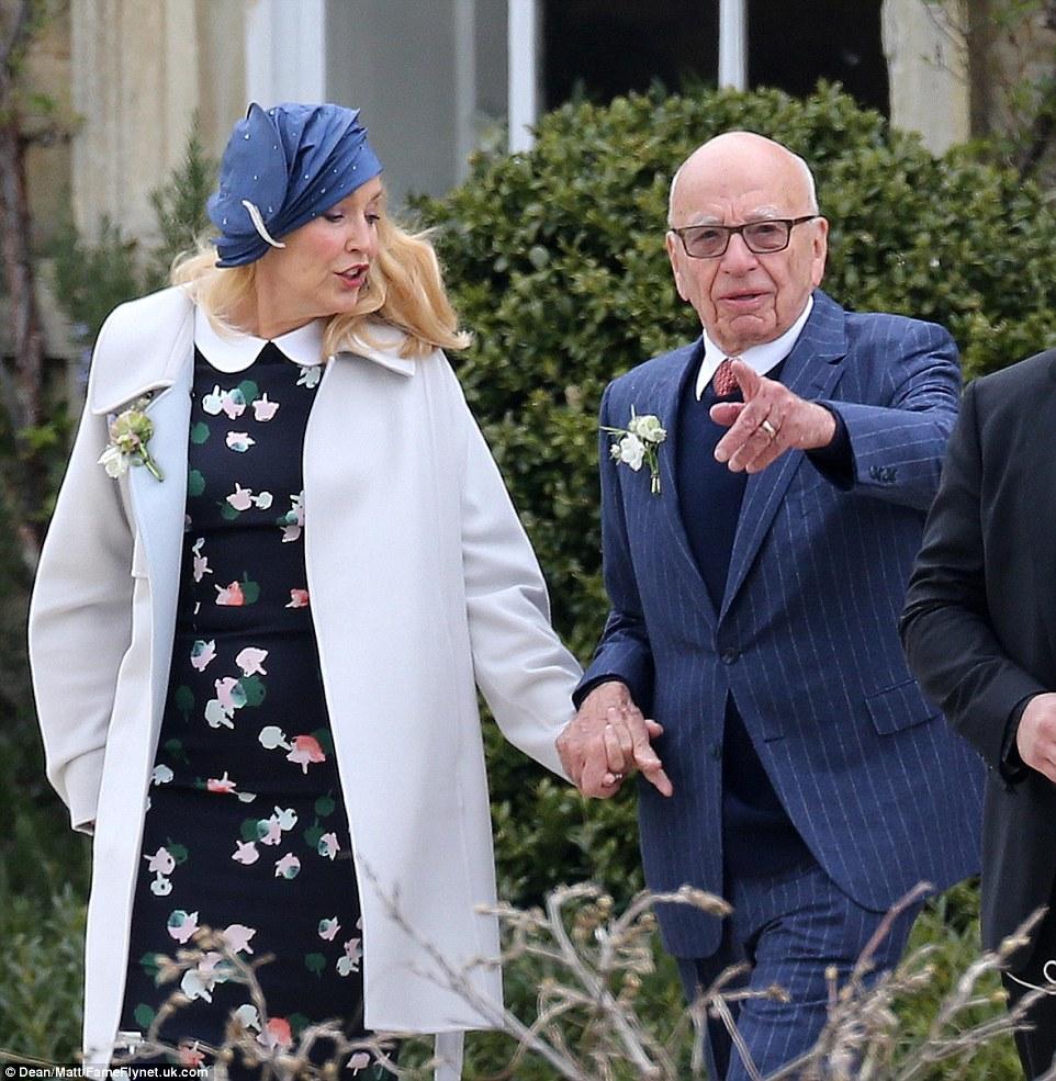 de Jagger e Sharma cerimônia de casamento vem semanas após o casamento da mãe de Jagger Jerry Hall para magnata da mídia Rupert Murdoch