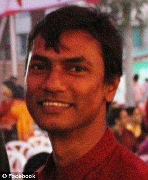 Butchered: Xulhaz Mannan, the editor of Bangladesh's only LGBT magazine, has been hacked to death by suspected Islamist militants at an apartment in the capital Dhaka