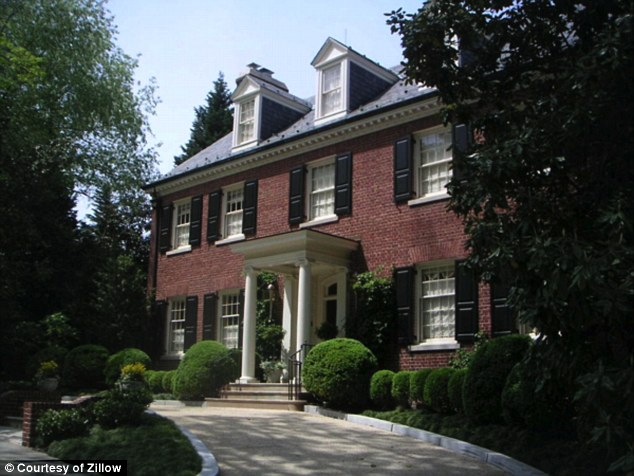 Then in 2000 the Clintons bought this $2.85 million colonial in Washington, D.C., which sits near several embassies and the residency of the vice president of the United States