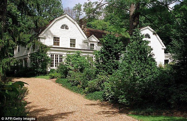 Hillary Clinton once said she and Bill were 'dead broke' when they left the White House, but they had already purchased this $1.7 million home in Chappaqua, New York, so she could establish Senate residency