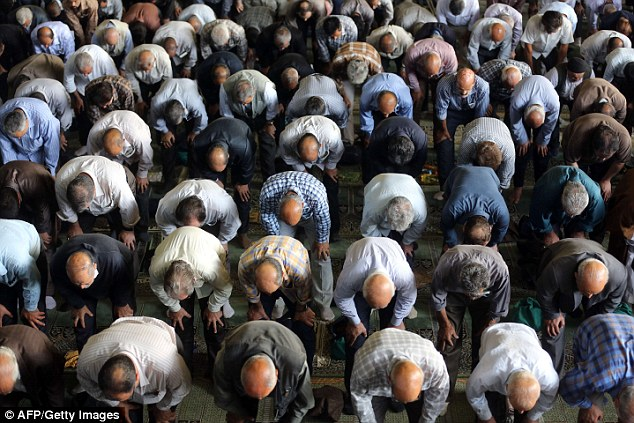 Muslims will 'very soon' outnumber practising Christians in Europe, a Belgian minister claimed yesterday