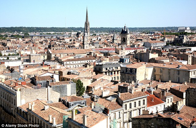 Jean-Baptiste Michalon was fined €500 (£390) for ordering different opening hours for men and women at his general store in the French city of Bordeaux (above)
