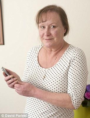 Víctima: Ruth danza fue golpeado con una factura por £ 300 de Vodafone