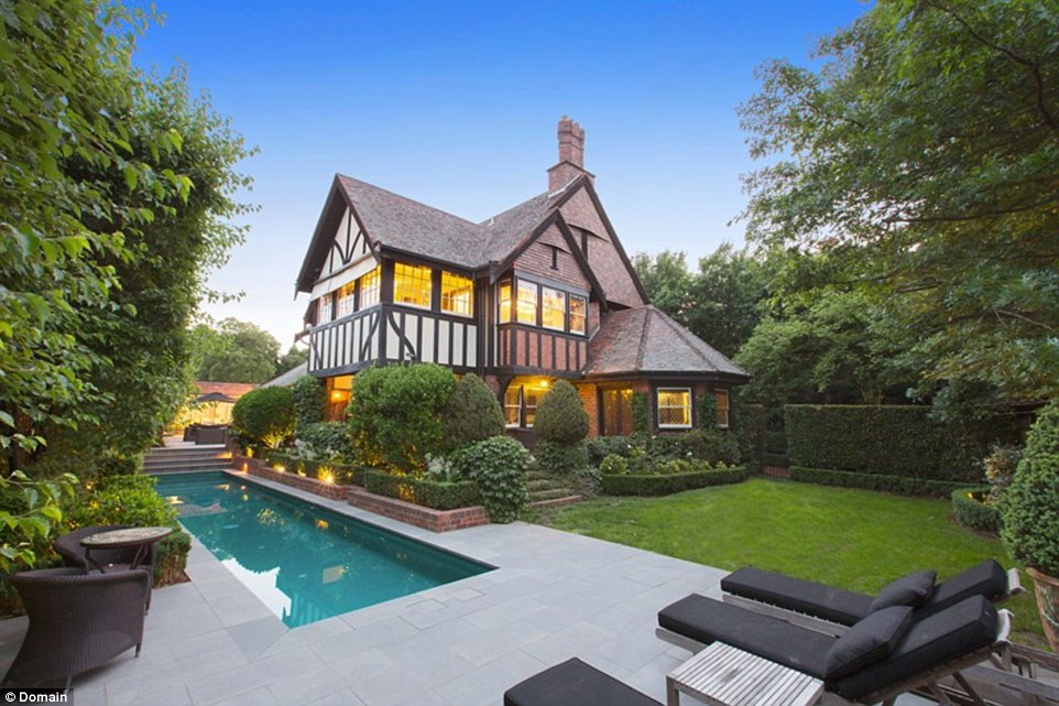 The $8m Arts and Crafts (half-timbered) Toorak property at 3 Illawarra Crescent, Toorak