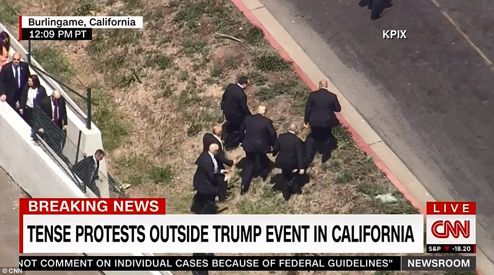 Donald Trump Private Security Detail