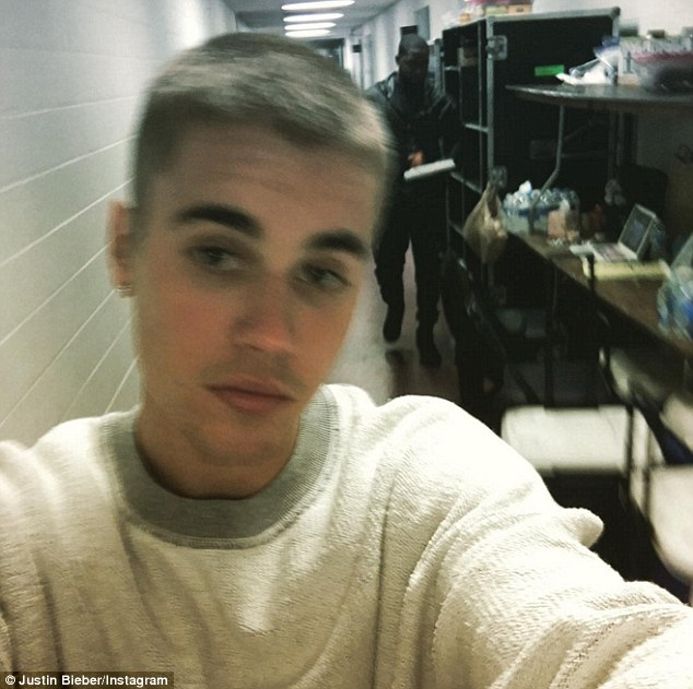 Good hair day: Pop star Justin Bieber shared a selfie showing off his short new haircut on Instagram on Friday