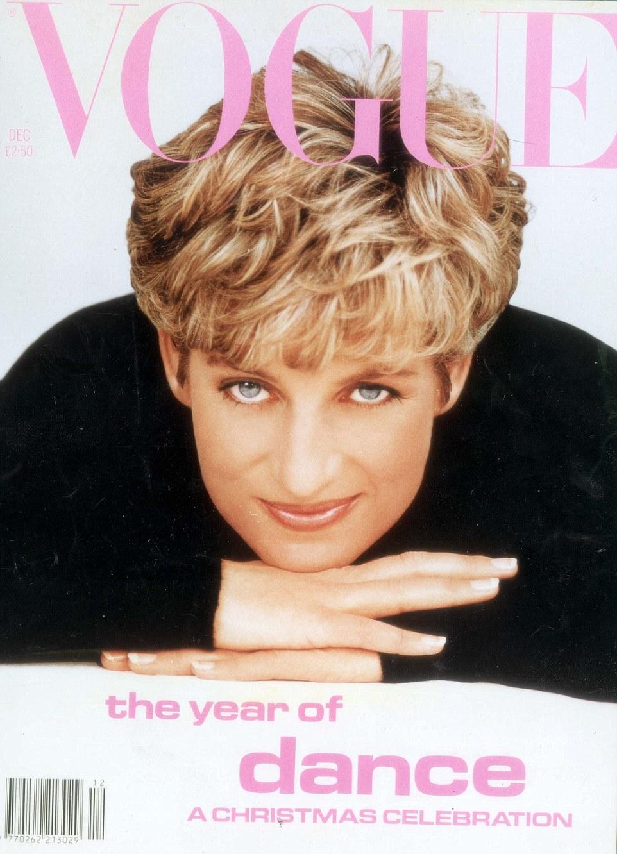 Lady Diana sebagai cover majalah Vogue