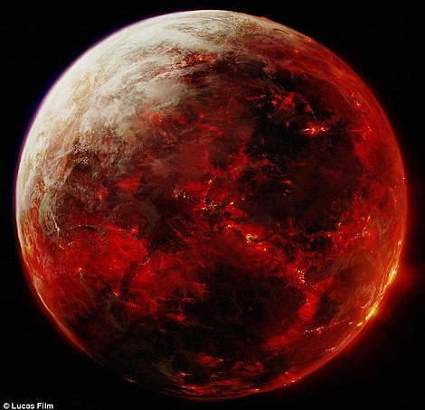 Nasa reveals 'real' Star Wars planets Tatooine, Hoth ...