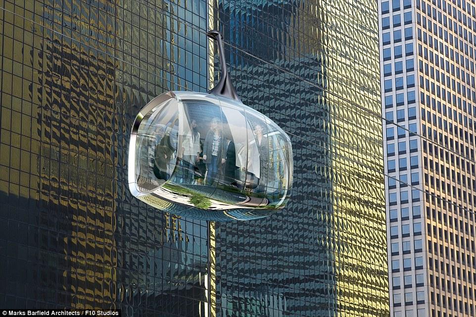 I baccelli di vetro sarebbero in funzione tutto l'anno, spostando i visitatori a 800 piedi al minuto in tutto il corso d'acqua in sessioni di 30 minuti