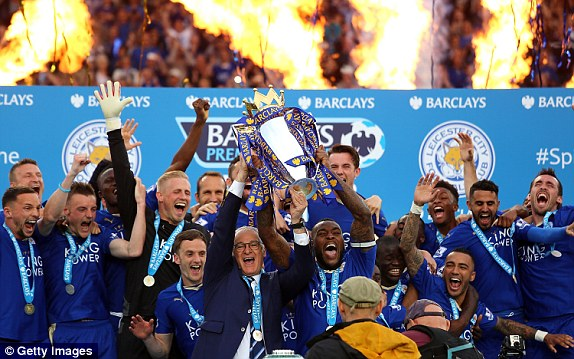 Image result for leicester city premier league champions
