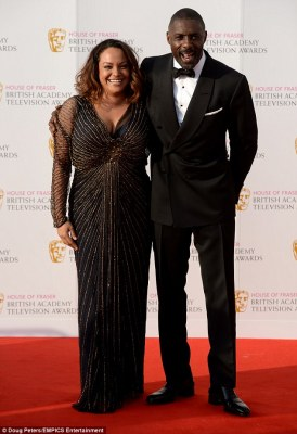 Back together? Idris Elba and Naiyana Garth put on a loved-up display at the British Academy Television Awards on Sunday evening