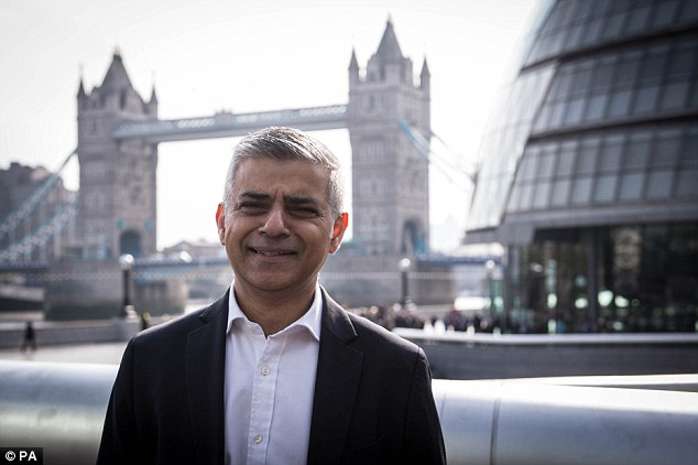Image result for Sadiq Khan,, london, photos