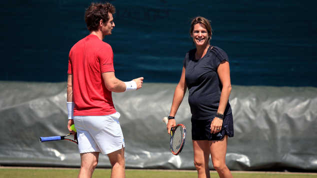 Andy Murray has announced he has split from coach Amelie Mauresmo