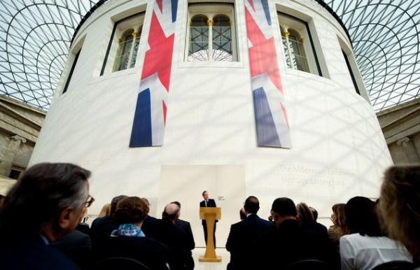 UK's Cameron says leaving EU would increase risk of war ...