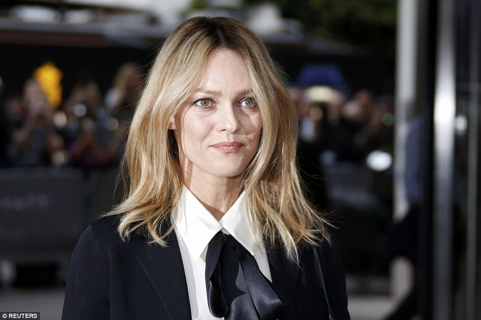 Popularity: Some 45,000 people are expected to visit the event over the next 10 days. Pictured: Vanessa Paradis, a jury member, arrives at the Grand Hyatt Cannes Hotel Martinez on Tuesday evening