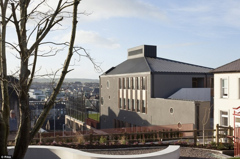St Angela's College in Cork has educated Irish children for 125 years. Three new buildings on the steeply sloping site at St Patrick's Hill will, along with refurbished 19th century buildings, will provide education for generations more to come