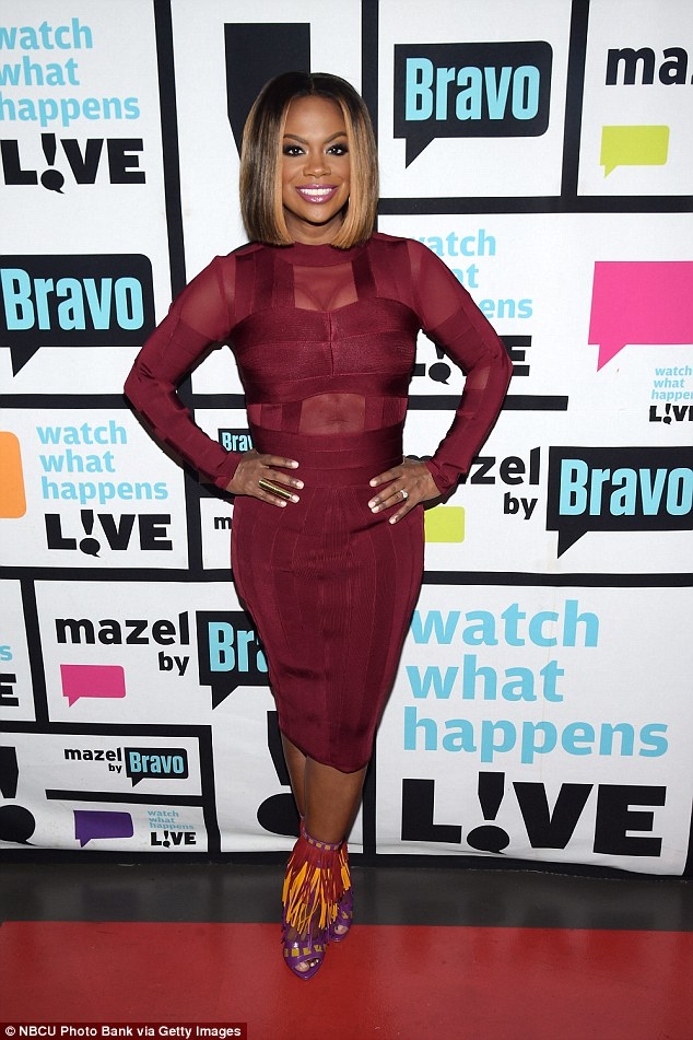 Real Housewives Star Kandi Burruss Reveals Shes Toilet